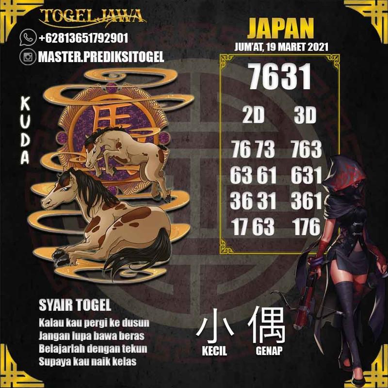 Prediksi Japan Tanggal 2021-03-19