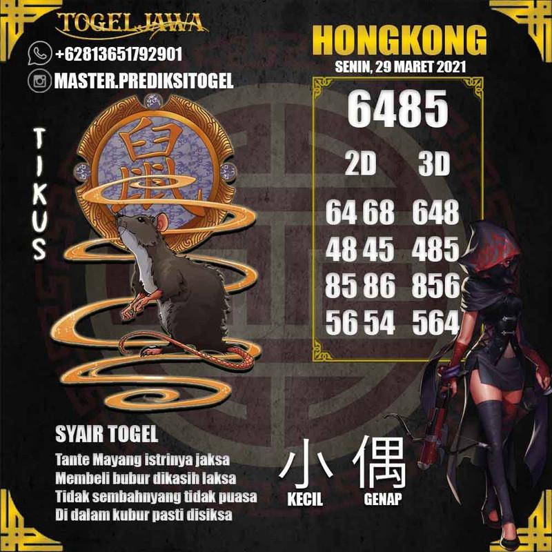Prediksi Hongkong Tanggal 2021-03-29
