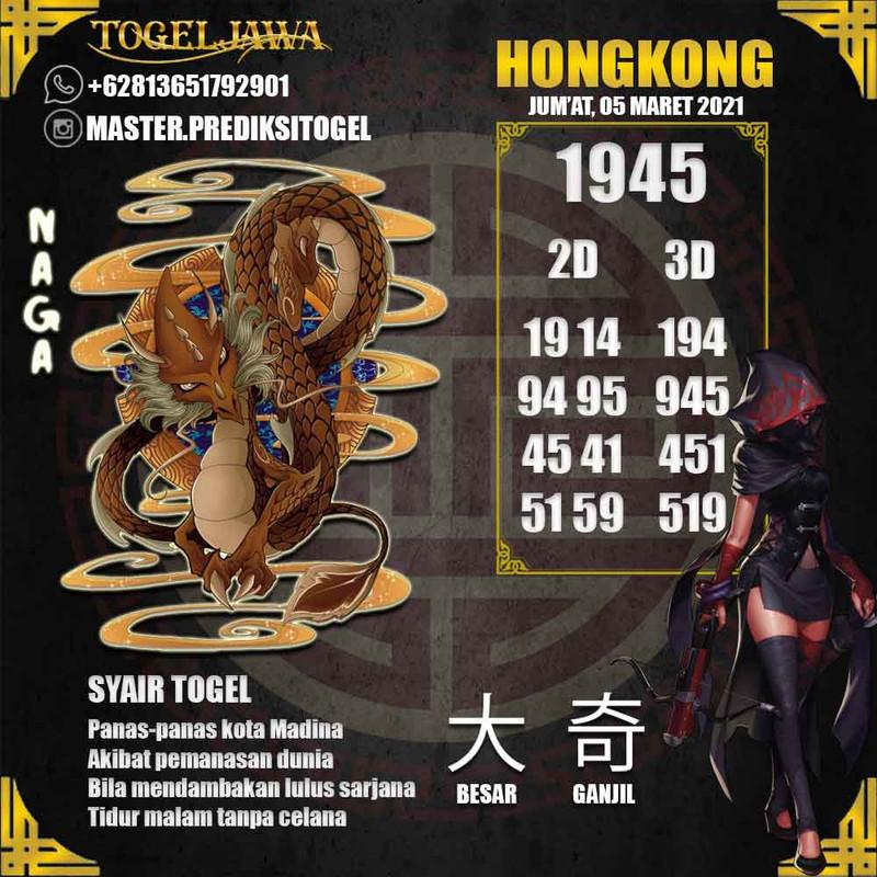 Prediksi Hongkong Tanggal 2021-03-05