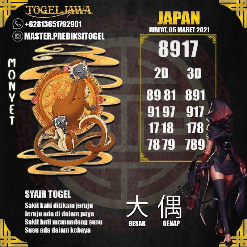 Prediksi Japan Tanggal 2021-03-05