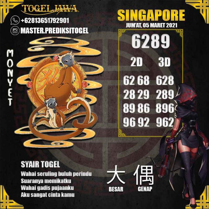 Prediksi Singapore Tanggal 2021-03-05