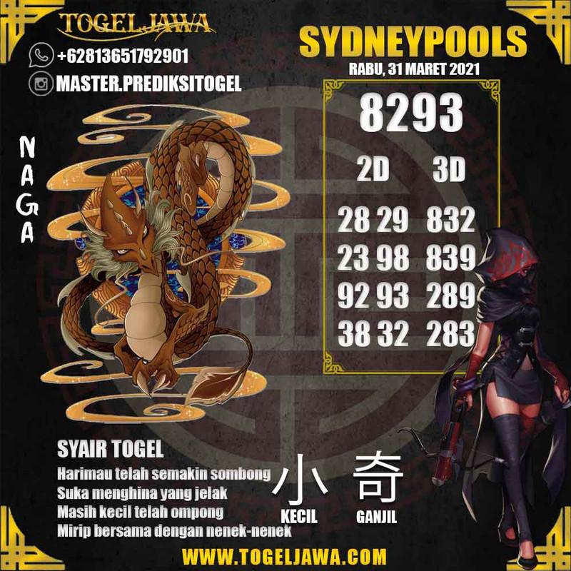 Prediksi Sydney Tanggal 2021-03-31