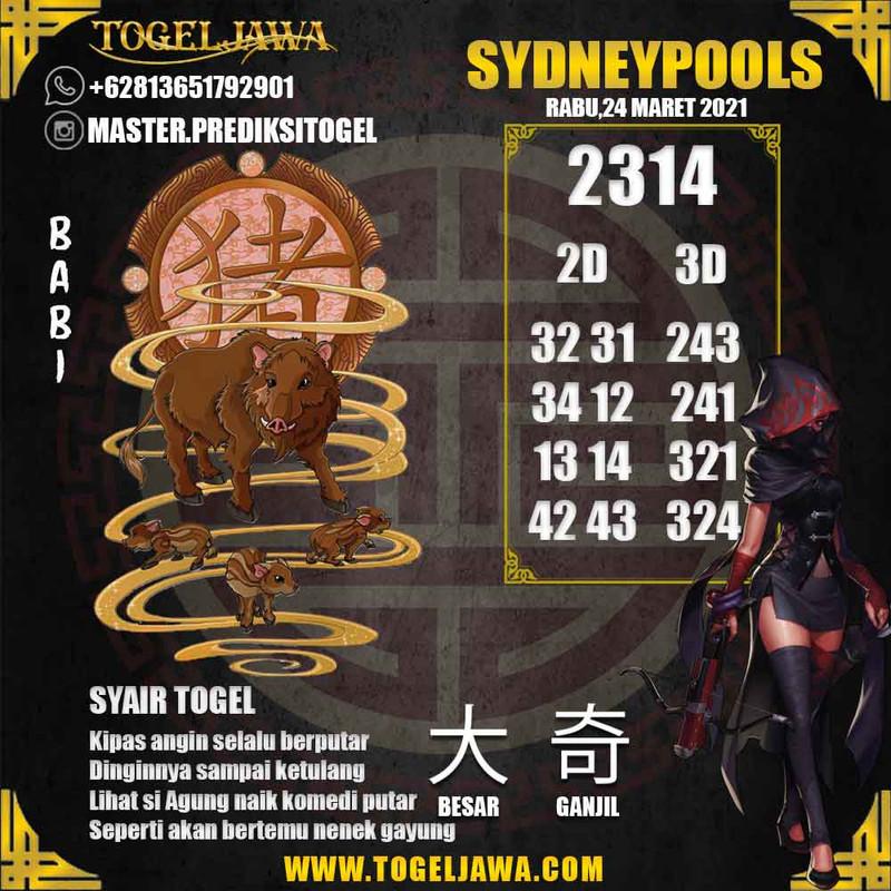 Prediksi Sydney Tanggal 2021-03-24