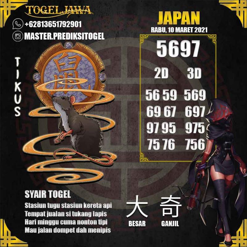 Prediksi Japan Tanggal 2021-03-10