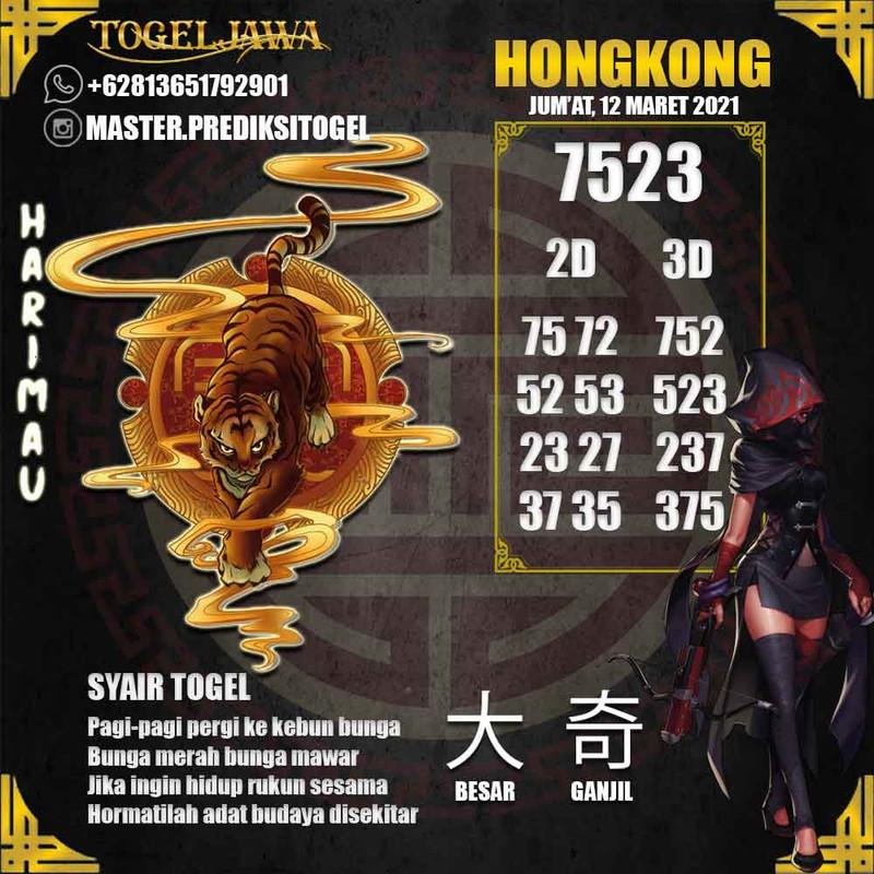 Prediksi Hongkong Tanggal 2021-03-12