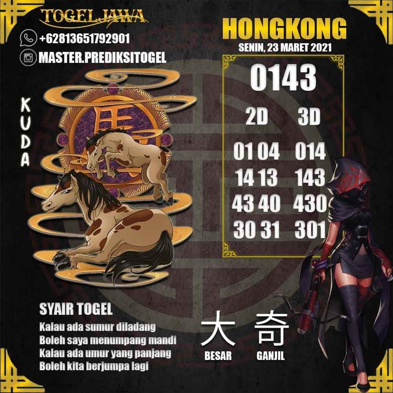 Prediksi Hongkong Tanggal 2021-03-23