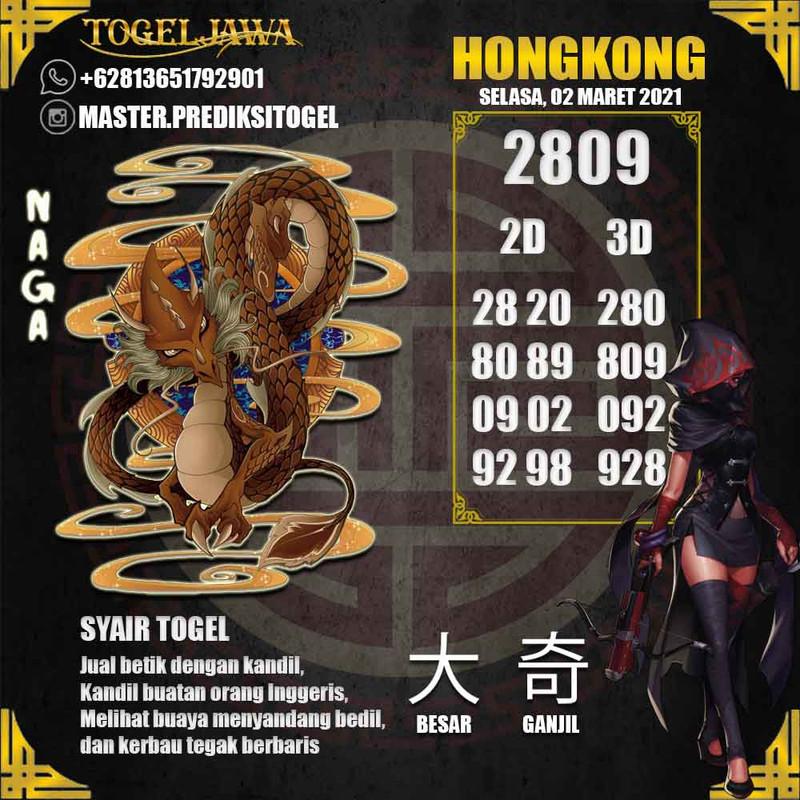 Prediksi Hongkong Tanggal 2021-03-02