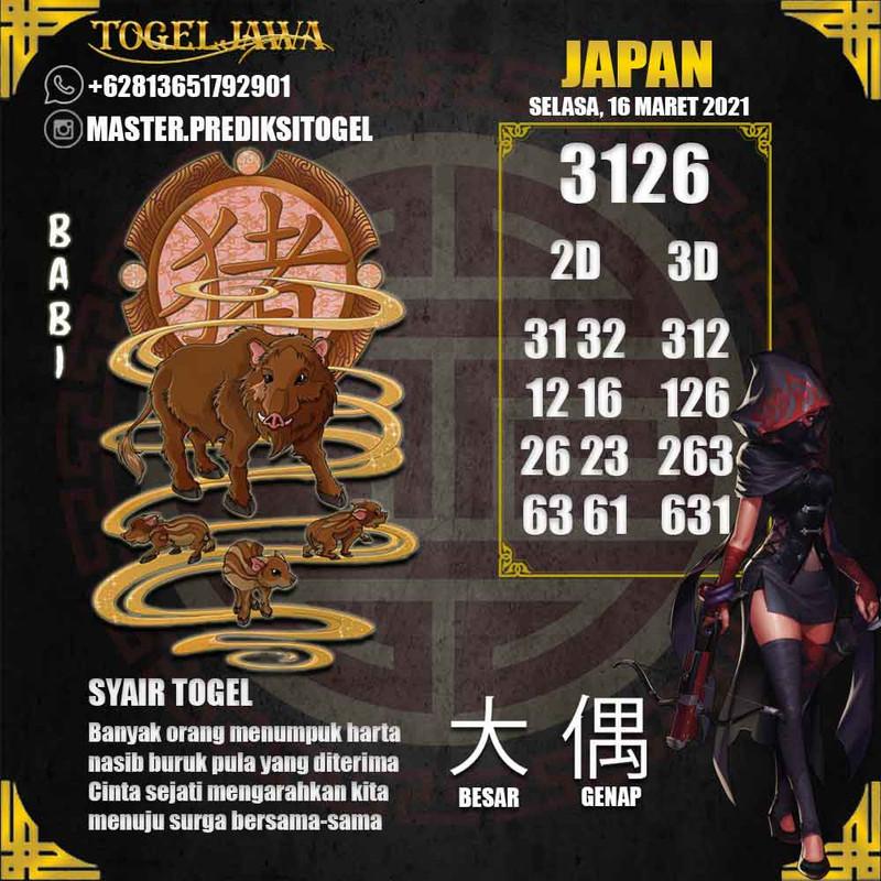 Prediksi Japan Tanggal 2021-03-16
