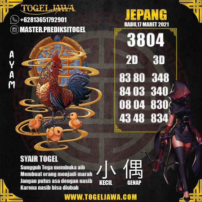 Prediksi Japan Tanggal 2021-03-17