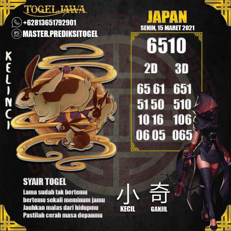 Prediksi Japan Tanggal 2021-03-15