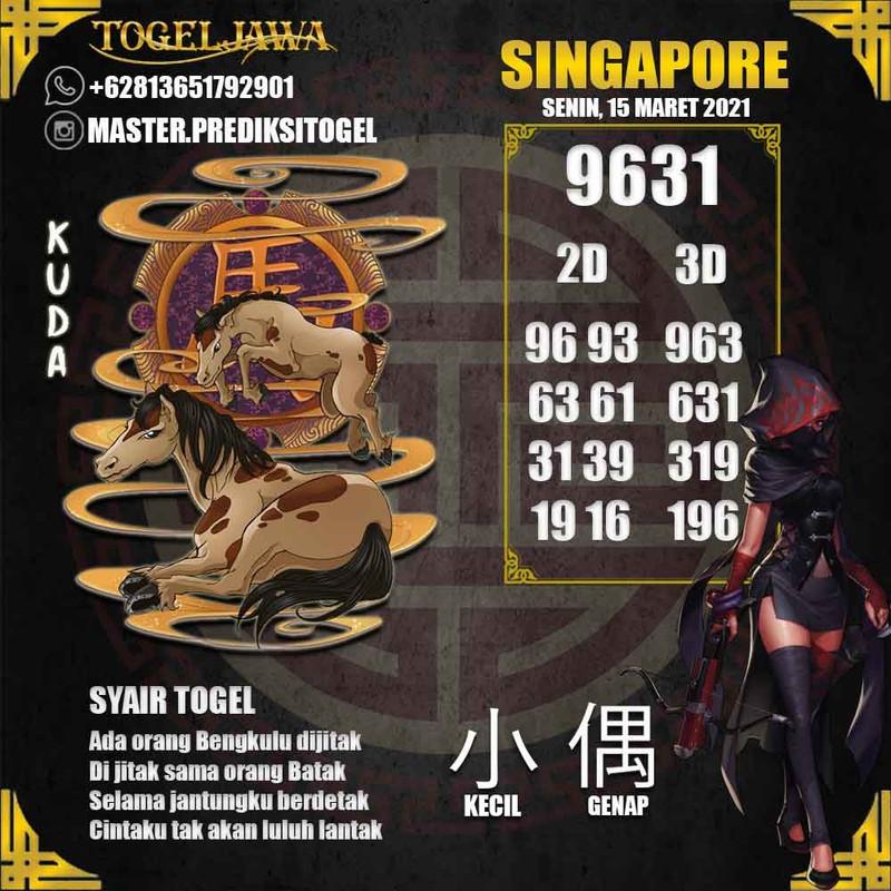 Prediksi Singapore Tanggal 2021-03-15