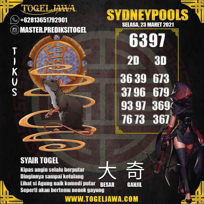 Prediksi Sydney Tanggal 2021-03-23