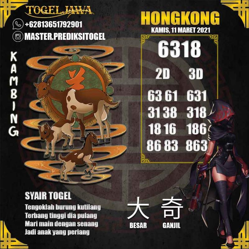 Prediksi Hongkong Tanggal 2021-03-11