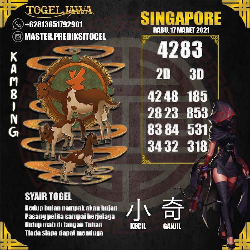 Prediksi Singapore Tanggal 2021-03-17