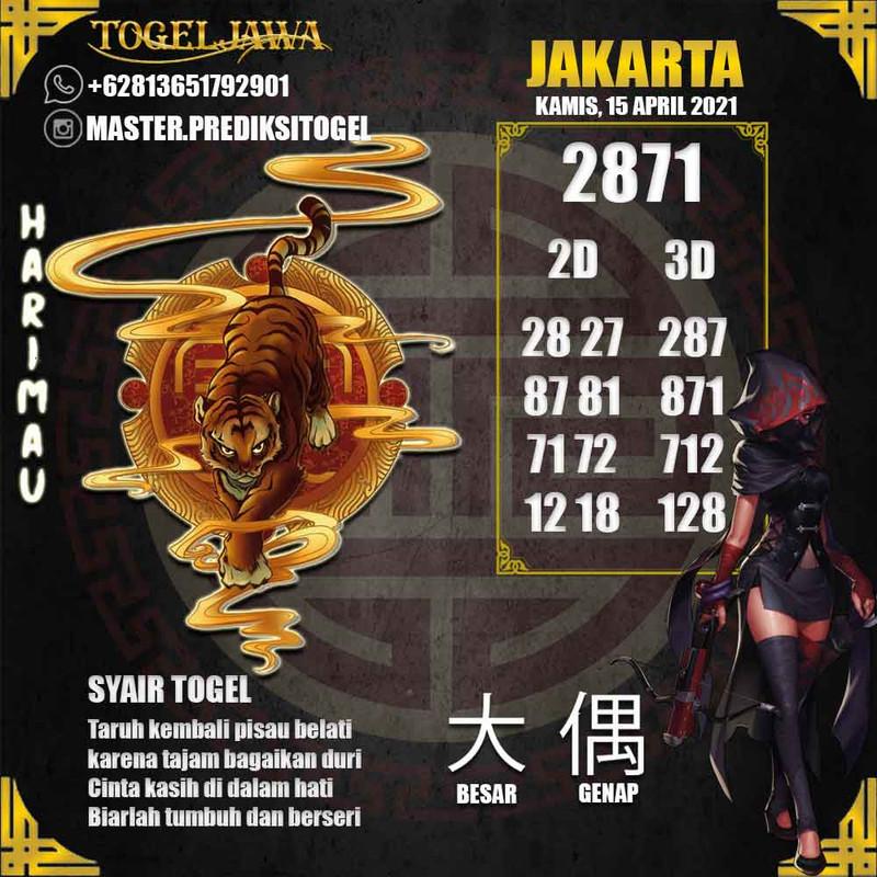 Prediksi Jakarta Tanggal 2021-04-16