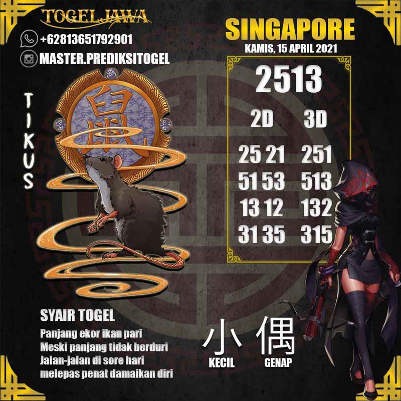 Prediksi Singapore Tanggal 2021-04-16
