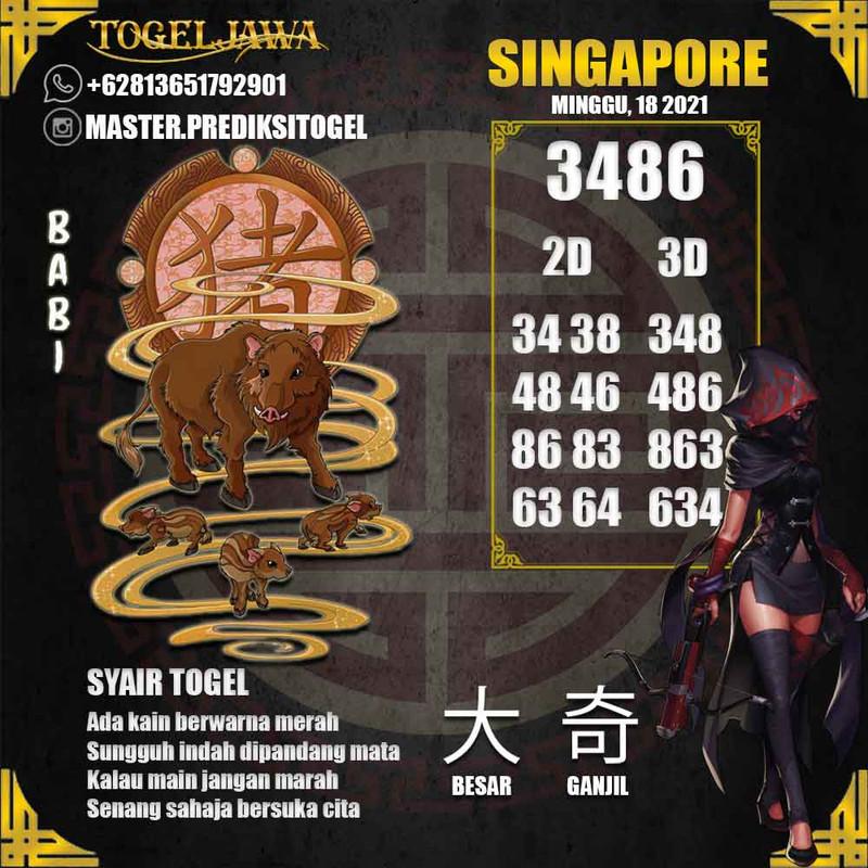 Prediksi Singapore Tanggal 2021-04-18
