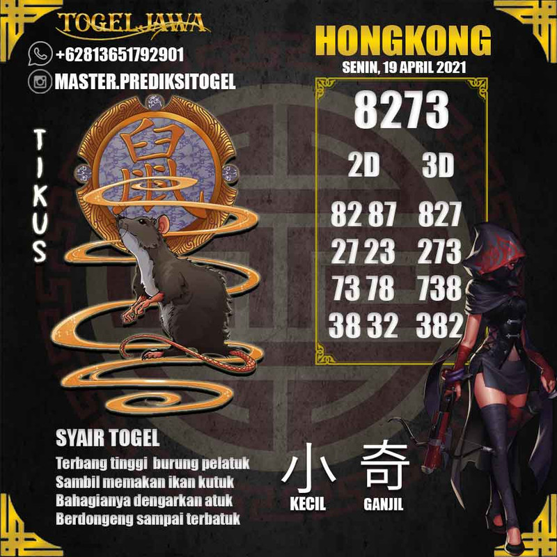 Prediksi Hongkong Tanggal 2021-04-19