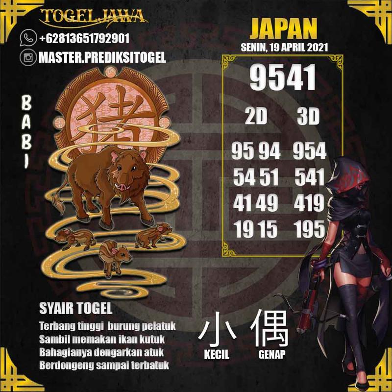 Prediksi Japan Tanggal 2021-04-19