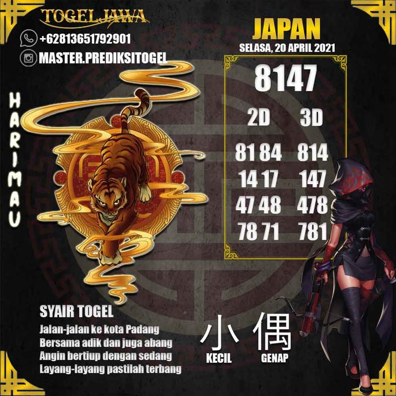 Prediksi Japan Tanggal 2021-04-20