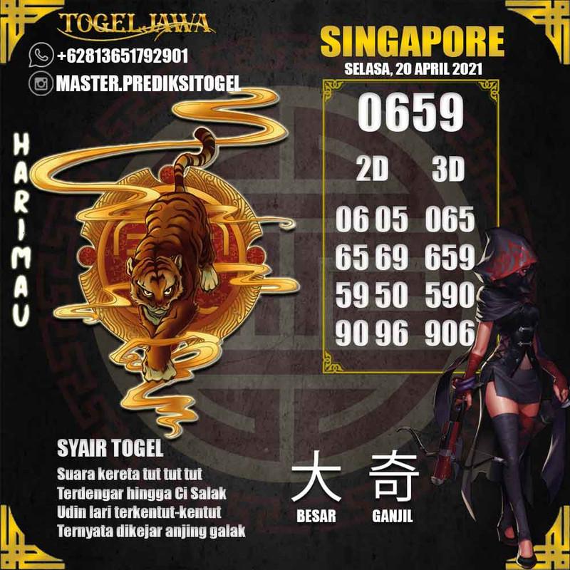 Prediksi Singapore Tanggal 2021-04-20