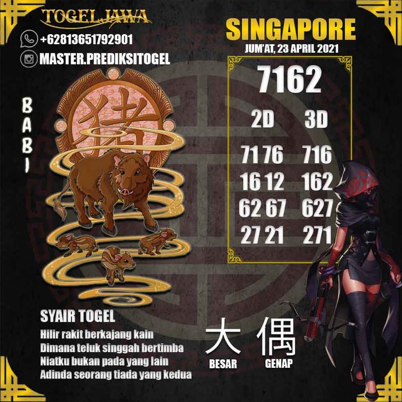 Prediksi Singapore Tanggal 2021-04-23