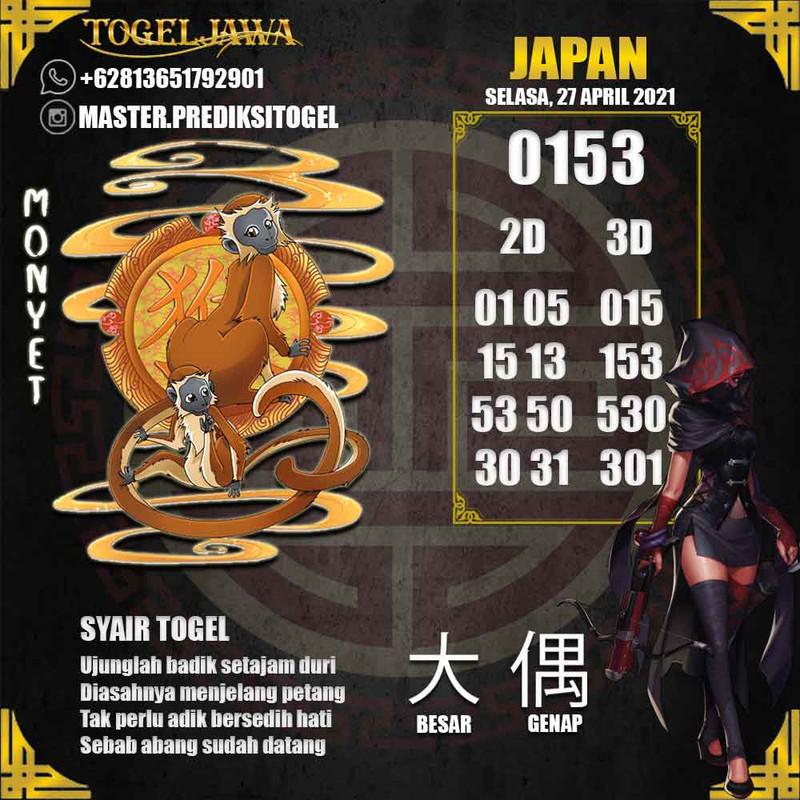 Prediksi Japan Tanggal 2021-04-27