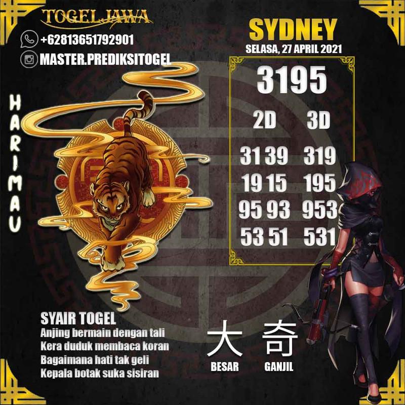 Prediksi Sydney Tanggal 2021-04-27