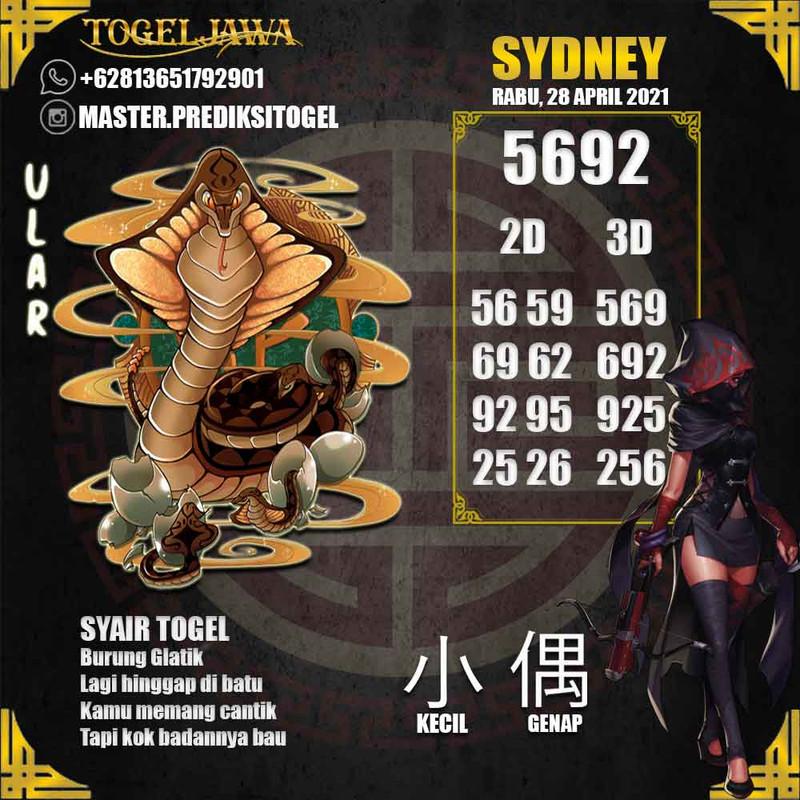 Prediksi Sydney Tanggal 2021-04-28