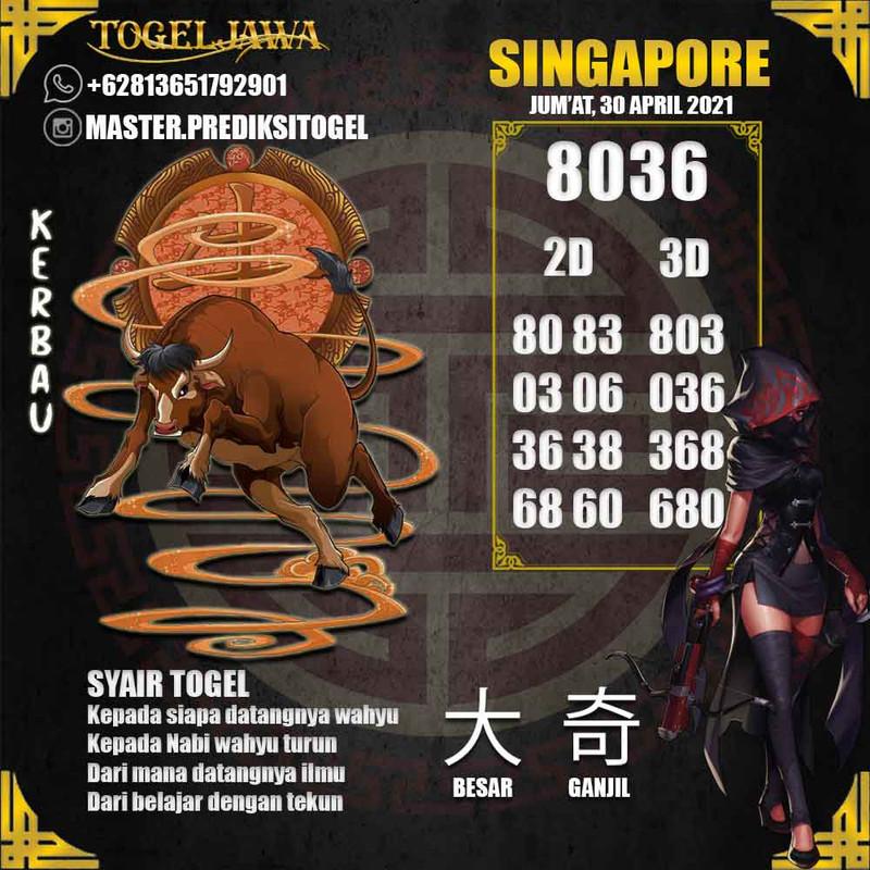 Prediksi Singapore Tanggal 2021-04-30