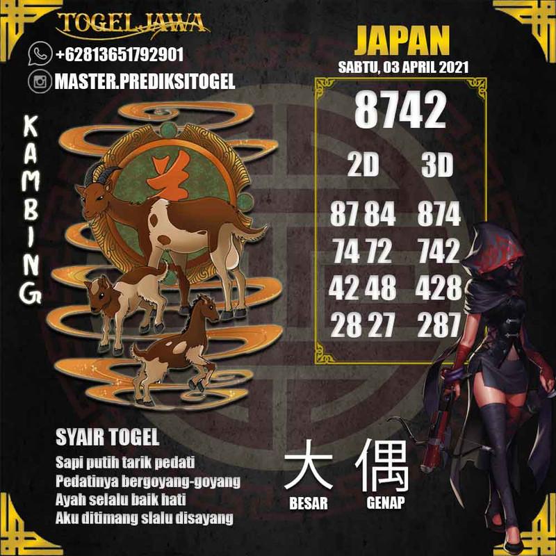 Prediksi Japan Tanggal 2021-04-03