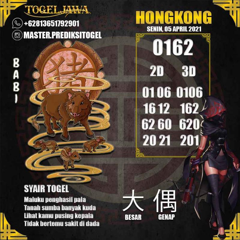 Prediksi Hongkong Tanggal 2021-04-05