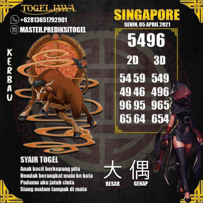 Prediksi Singapore Tanggal 2021-04-05