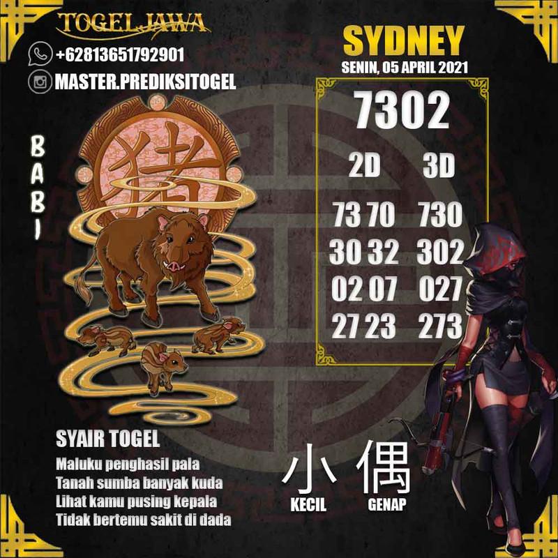 Prediksi Sydney Tanggal 2021-04-05