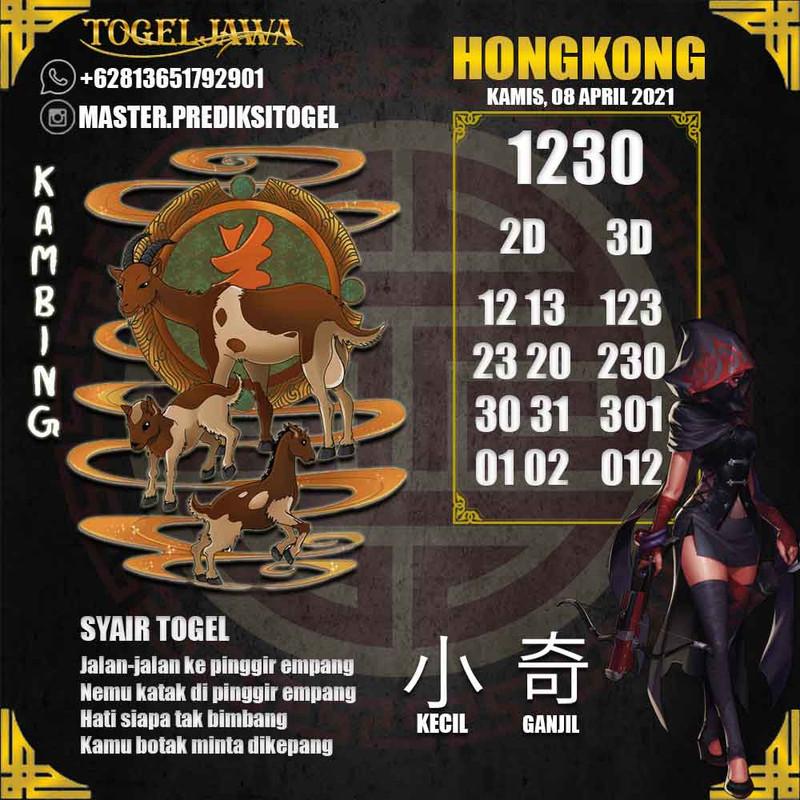 Prediksi Hongkong Tanggal 2021-04-08