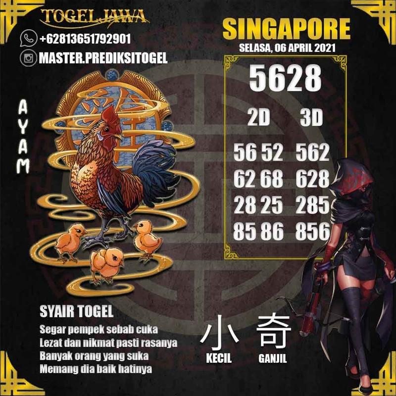 Prediksi Singapore Tanggal 2021-04-06