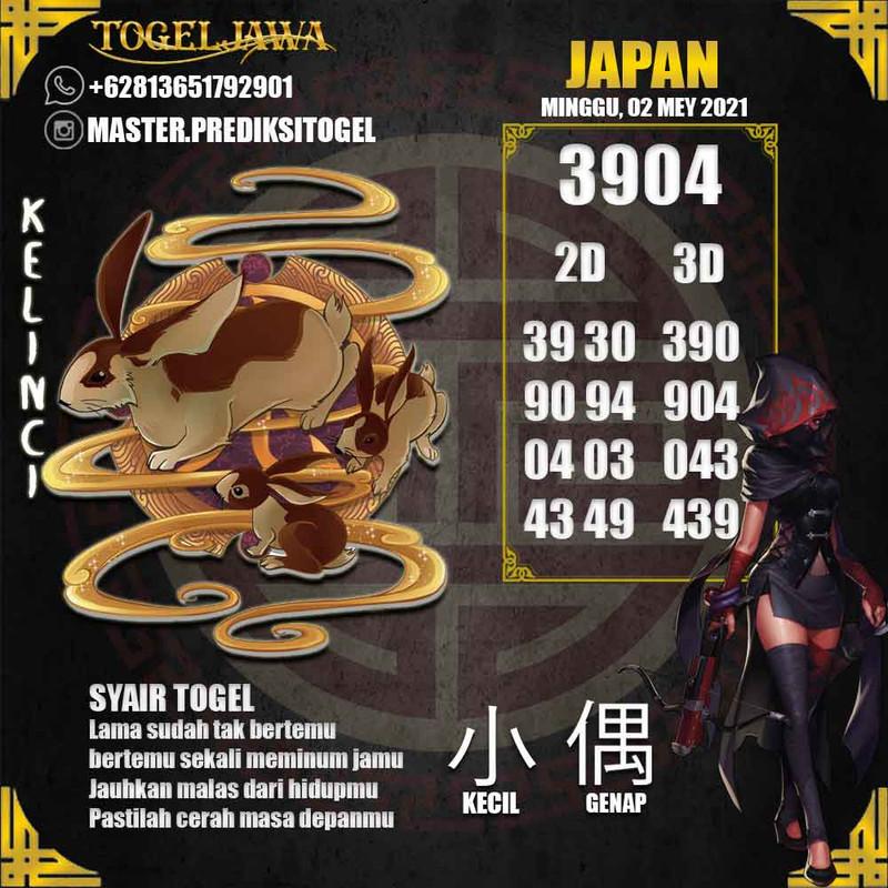 Prediksi Japan Tanggal 2021-05-02