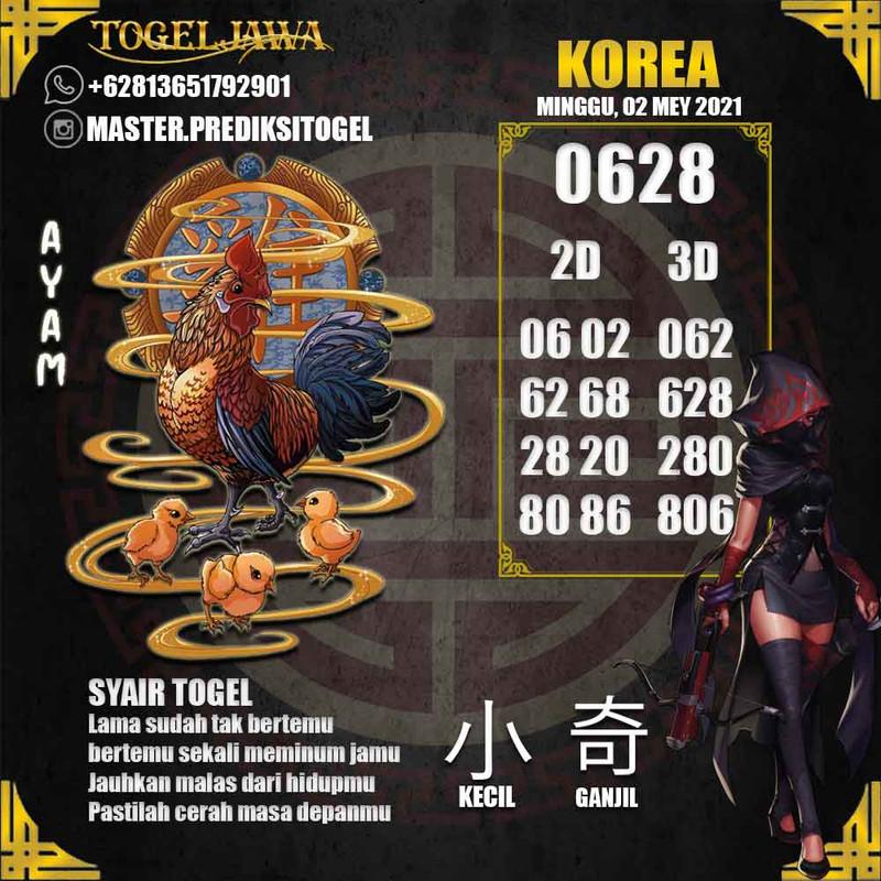Prediksi Korea Tanggal 2021-05-02