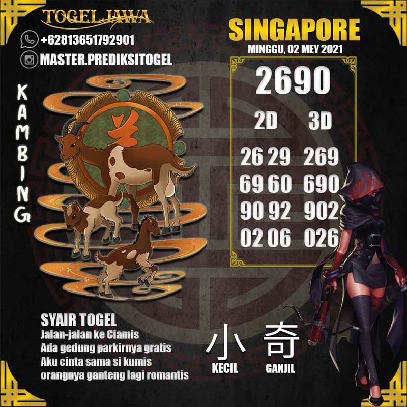 Prediksi Singapore Tanggal 2021-05-02