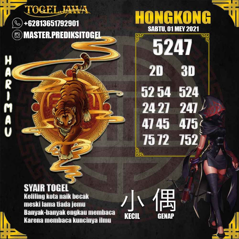 Prediksi Hongkong Tanggal 2021-05-01