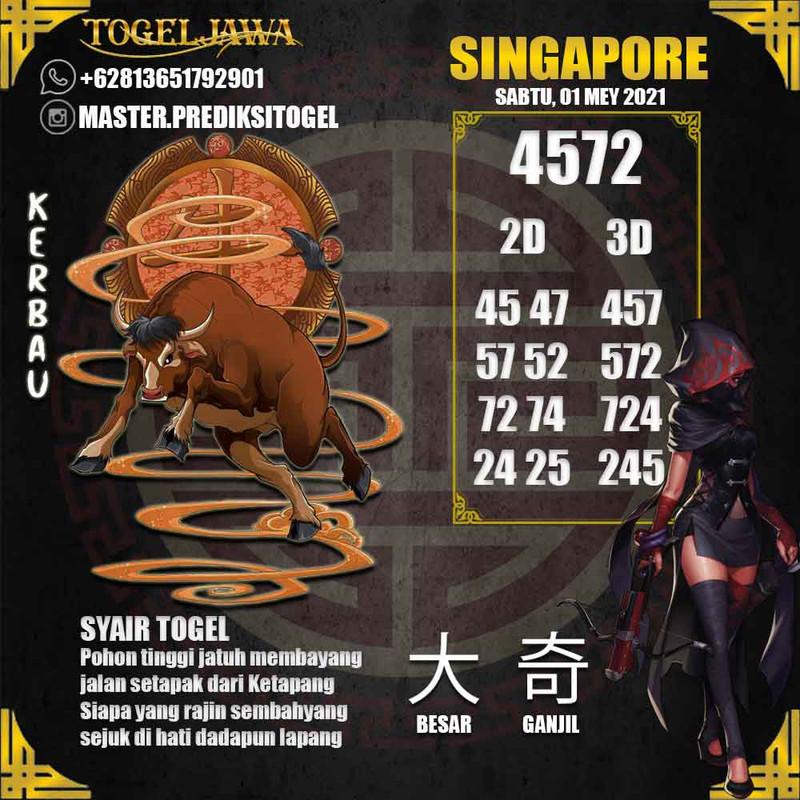 Prediksi Singapore Tanggal 2021-05-01