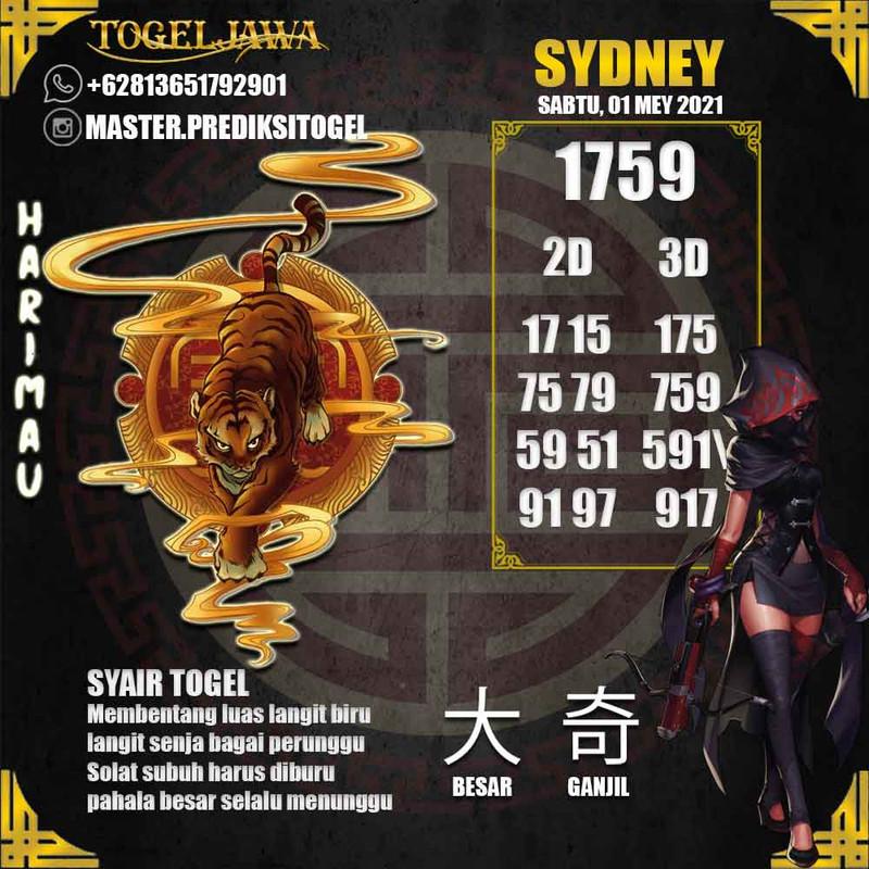 Prediksi Sydney Tanggal 2021-05-01